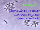 Bài giảng Vi sinh vật học đại cương: Chương 6 - ThS. Trịnh Ngọc Nam
