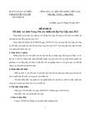 Kế hoạch tổ chức vui chơi trung thu cho thiếu nhi ấp Tân Lập năm 2015