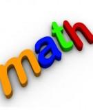 Các dạng toán về dãy số và phương pháp giải