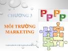 Bài giảng Marketing căn bản: Chương 3 - Hoàng Thu Hương