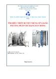 Đề tài: Tìm hiểu thiết bị tiệt trùng sữa bằng phương pháp UHT dạng bản mỏng
