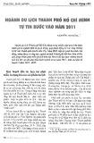 Ngành du lịch Thành phố Hồ Chí Minh tự tin bước vào năm 2011