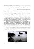 Tạp chí khoa học & công nghệ: Khai thác các điều kiện tự nhiên phục vụ phát triển du lịch tại khu du lịch Hồ Núi Cốc tỉnh Thái Nguyên