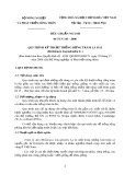 Tiêu chuẩn ngành 04 TCN 145-2006