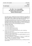 Tiêu chuẩn cơ điện nông nghiệp: Tiêu chuẩn ngành 10 TCN 170-92