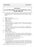 Tiêu chuẩn ngành 10 TCN 194-94