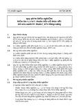 Tiêu chuẩn ngành 10 TCN 220-95