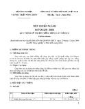 Tiêu chuẩn ngành 04 TCN 129-2006