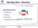 Bài thuyết trình: Hệ thống Gami - Elearning