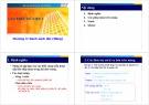 Bài giảng Cấu trúc dữ liệu 1: Chương 3 - Lương Trần Hy Hiến