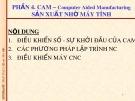 Bài giảng CAD/CAM/CNC: Bài 7 - ĐH Bách khoa TP. HCM