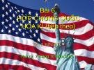 Bài giảng Bài 6: Hợp chúng quốc Hoa Kì (tiếp theo)