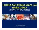 Bài giảng Hướng dẫn phòng ngừa lây nhiễm cúm A (H5N1, H1N1, H7N9) -  BS.CKII Nguyễn Thị Thanh Hà