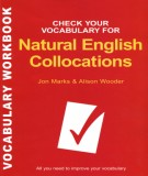 Ebook Check your vocabulary for natural English collocations: Part 1