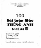 Ebook 100 bài luận mẫu tiếng Anh trình độ B: Phần 2