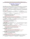 Đề thi đại học, cao đẳng các năm phần: Lượng tử ánh sáng (Có đáp án)