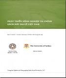 Ebook Phát triển nông nghiệp và chính sách đất đai ở Việt Nam: Phần 1