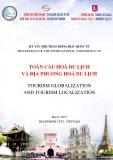 Kỷ yếu hội thảo Khoa học Quốc tế: Toàn cầu hoá du lịch và địa phương hoá du lịch