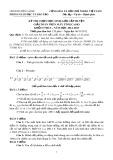 Đề thi chọn học sinh giỏi cấp huyện Cái Bè giải toán trên máy tính casio - Khối 9 (Năm học 2012-2013)