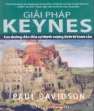 Ebook Giải pháp Keynes - Con đường đến sự thịnh vượng kinh tế toàn cầu: Phần 1