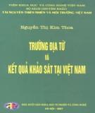Trường địa từ và kết quả khảo sát tại Việt Nam - Tài nguyên thiên nhiên và môi trường Việt Nam: Phần 2