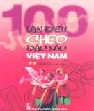 Ebook 100 làn điệu Chèo đặc sắc Việt Nam: Phần 2