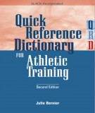 Quick Reference Dictionary for Athletic Training: Part 2