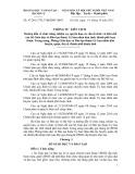 Thông tư liên tịch số: 47/2011/TTLT-BGDĐT-BNV