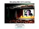 Bài giảng điện tử E-Learning - Nguyễn Gia Khánh