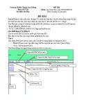 Đề thi môn Lập Trình Web - Trường CĐ Kỹ thuật Cao Thắng