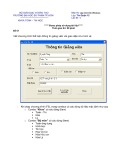 Đề thi môn Lập trình trên Windows - Trường ĐH Sư phạm TP. Hồ Chí Minh