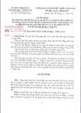 Quyết định Số: 32/2015/QĐ-UBND tỉnh Bà Rịa - Vũng Tàu