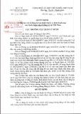 Quyết định Số: 524/QĐ-QLD