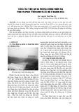Công tác thủy lợi và phòng chống thiên tai phục vụ phát triển kinh tế, xã hội ở Khánh Hòa - KS. Nguyễn Thái Như Trị