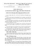 Thông tư liên tịch số: 158/2015/TTLT-BTC-BTP