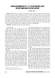 Đánh giá ảnh hưởng của bãi chôn lấp rác Xuân Sơn, Hà Nội đến môi trường nước và đề xuất giải pháp