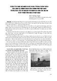 Phân tích một số điểm khác nhau trong chính sách của ADB và chính sách của chính phủ Việt Nam trong báo cáo kế hoạch tái định cư cho các dự án phát triển vốn ODA ở Việt Nam - ThS. Chu Duy Tuyền