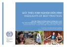 Giới thiệu kinh nghiệm điển hình: Dự án tăng cường hoạt động du lịch tại các huyện sâu trong đất liền tỉnh Quảng Nam
