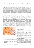 Ảnh hưởng của biến đổi khí hậu đến dòng chảy lưu vực sông Cả - Cù Thị Phương