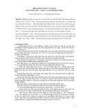 Đồng bằng sông Cửu Long, tài nguyên đất, nước và vấn đề khai thác - GS. Nguyễn Sinh Huy