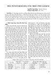 Phân tích ổn định cống vùng triều tỉnh Nam Định
