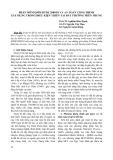 Phần mềm QMM ĐTĐL 2009/01 và an toàn công trình xây dựng trong điều kiện thiên tai bất thường miền Trung