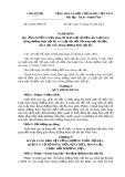 Nghị định số: 24/2015/NĐ-CP