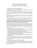 Một số suy nghĩ ban đầu về vấn đề kiểm soát lũ vùng Đồng Tháp Mười - GS.TS. Đào Xuân Lộc