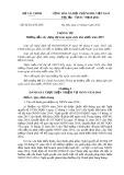 Thông tư số: 84/2014/TT-BTC