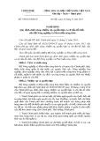 Nghị định số: 199/2013/NĐ-CP