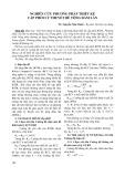 Nghiên cứu phương pháp thiết kế cấp phối lý thuyết bê tông đầm lăn