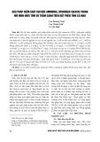 Giải pháp kiểm soát khí độc ammonia, hydrogen sulfide trong mô hình nuôi tôm sú thâm canh trên đất phèn tỉnh Cà Mau