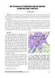 Một số đánh giá về ô nhiễm nước sông Đào Nam Định và biện pháp quản lý kiểm soát - Vũ Hoàng Hoa