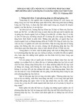 Mối quan hệ giữa nội dung và phương pháp dạy học môn Đường lối cách mạng của đảng cộng sản Việt Nam - PGS. TS. Vũ Quang Hiển